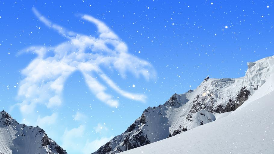 fantasy_snow_mountains_clouds